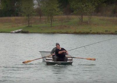 Estamos rodando: esturiones en Iktus Lake