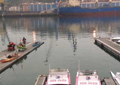 El arte de pescar en kayak
