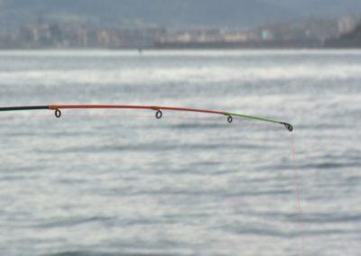 Pescando a bordo del Amelie