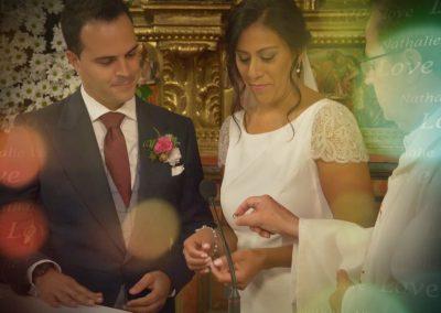 Reportaje de boda en Marqués de Riscal por Cinco Producciones