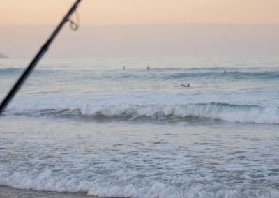 SURFCASTING EN ZARAUTZ